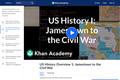 History: U.S. History Overview - Jamestown to the Civil War (1 of 3)