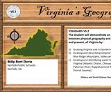 Virginia's Geography SOL VS 2 (bordering regions, & features)