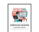 Grade 6 Computer Science: Cybersecurity Vocabulary Posters