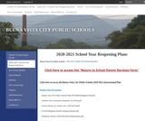 Buena Vista: 2020-2021 School Year Reopening Plans