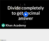 Arithmetic Operations: Dividing Decimals 1