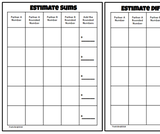 Estimate Sums & Differences Game