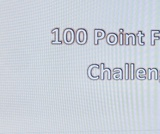 100 Point Fitness Challenge