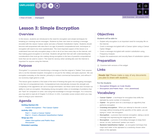 Hour of Code 2.3: Simple Encryption