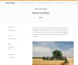 Teach Design: Harvest and Share