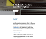 Digital Learning Days self-paced online course