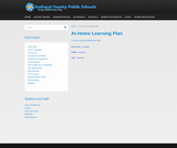 Amherst County Public Schools At Home Learning Plan