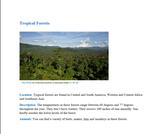 Forest Info Gap Card