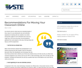 Recommendations For Moving Your Classroom Online