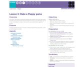 Hour of Code 1.3:  Make a Flappy game