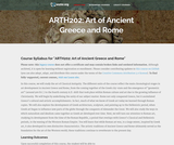 Art of Ancient Greece and Rome