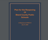 Bland County Public Schools Plan for Reopening 2020 (PDF)