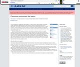 Classroom Environment: The Basics